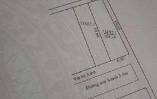 bán gấp lô đất 2 mặt kiêt  khu tđc hòa sơn 7  đường 5m5 lề 3m giá đầu tư sin lời cao