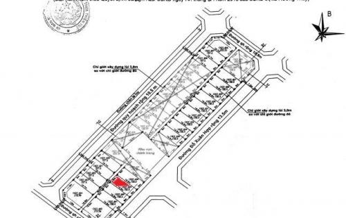 Cần bán nhanh lô đất mặt tiền Đỗ Xuân Hợp nằm kề bên dự án Eco Town của Đất Xanh