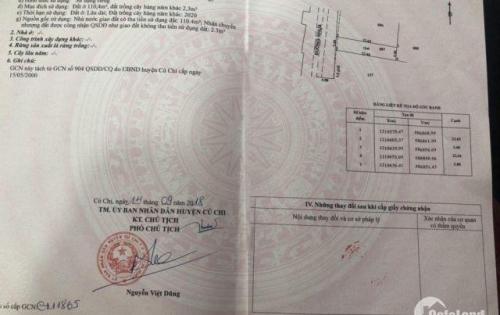 Bán lô đất đường Hồ Văn Tắng 5x22m, SHR, XD tự do