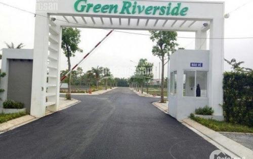 bán đất nền sổ đỏ xây tự do mặt tiền huỳnh tấn phát dự án green riverside nhà bè, 093 90 40 196