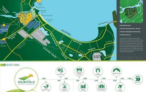 Nhận giữ chỗ đất nền dự án GoldenHills tại Đà Nẵng