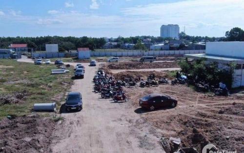 Bán 2 lô đất liền kề khu chợ mới Long Thành, Lê Duẩn, MT đường 44m thổ cư 100%