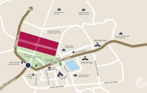 Bán đất trung tâm thị trấn yên thế giá chỉ 8tr/m2 tin vui cho các chủ đầu tư