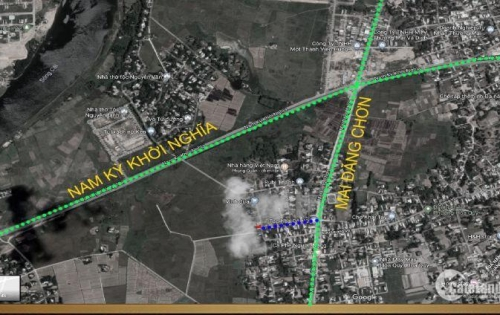 Bán đất đường Nhựa 4m thông từ Mai Đăng Chơn ra Nam Kì Khởi Nghĩa, cách đường lớn Mai Đăng Chơn 50m