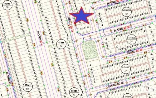 bán đất khu đô thị lê hồng phong 2 nha trang, 2 mặt tiền gần công viên