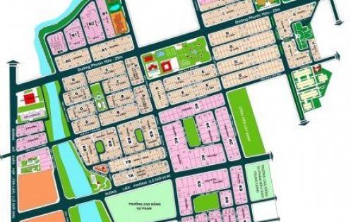Bán đất biệt thự khu dân cư Nam Long quận 9 sổ đỏ giá 38.5 triệu/m2
