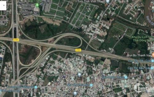 Bán 7300m2 đất thổ cư MT Bưng Ông Thoàn, Phú Hữu, Quận 9 giá 28tr/m2
