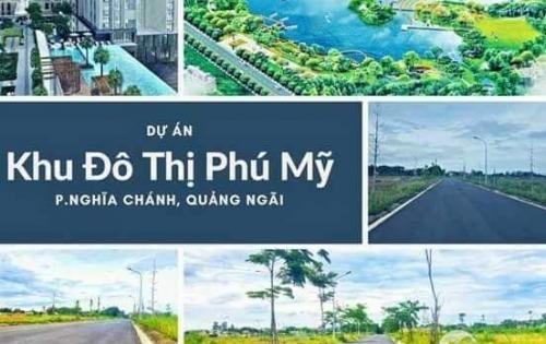 Đất nền Dự án khu đô thị Phú Mỹ - tp Quảng Ngãi - Sổ đỏ trao tay