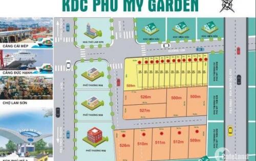 bán đất Phú Mỹ, gần KCN Phú Mỹ 3, Bà Rịa Vũng Tàu