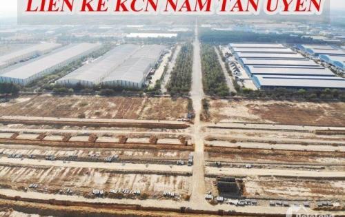 Chính chủ bán gấp 2 lô đất liền kề trong KDC Nam Tân Uyên,sổ hồng riêng.