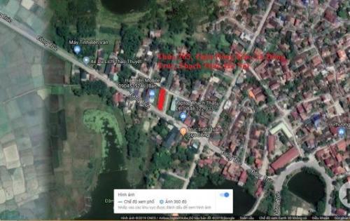 Bán đất mặt đường Đồng Trúc, xã Đồng Trúc, huyện Thạch Thất, Hà Nội.