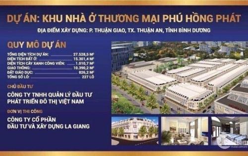 Đất nền hot nhất Thuận An-sổ đỏ từng lô-LH chủ đầu tư: 0938797672