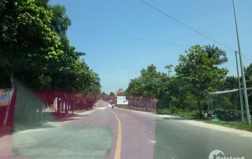 Đất bán diện tích 1496m2 giá 2,1tr/m2 , sổ hồng riêng , xây dựng tự do