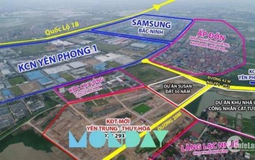 Đất Nền KCN Sam Sung Bắc Ninh_Sổ Đỏ Vĩnh Viễn_Giá Từ Chủ Đầu Tư