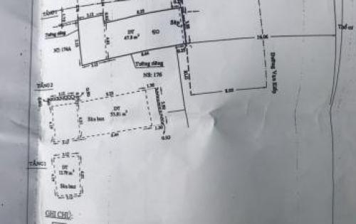 MT 174 khu KD Vạn Kiếp P3 BT - Vị trí thu hút, dễ thấy từ xa - DT :4 x 12m nở 5,5m - Trệt 2 lầu, nhà mới đẹp, thông thoáng. Dễ kinh doanh moi nghành nghề.13,1ty