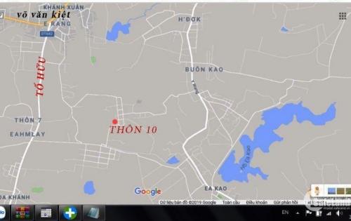 Bán đất thổ cư tại  thôn 10 (Tự Thành),xã hoà khánh,thanh pho Buonmathuot,tinh DakLak: