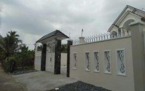 Cần bán căn biệt thự kiểu Pháp, Cần Giuộc 350m2 Giá 3 tỷ 8