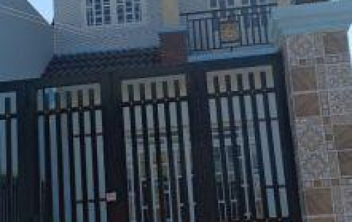 Bán Nhà gần chợ Bình Chánh 2km, SHR, giá rẻ 990tr, 1 lầu