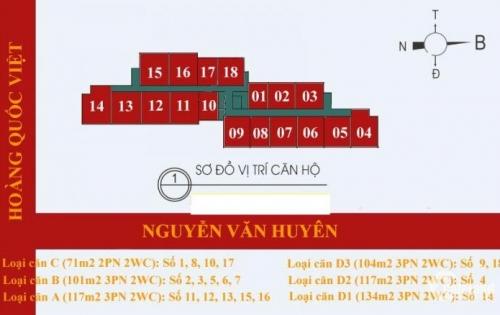 Chung cư 60 Hoàng Quốc Việt – Chuyên phân phối bán căn hộ giá rẻ.
