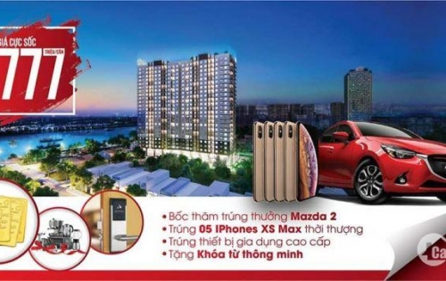 Căn hộ đẹp 2PN ngay sông Sài Gòn , trả trước chỉ 250 triệu, sổ hồng riêng vĩnh viễn.