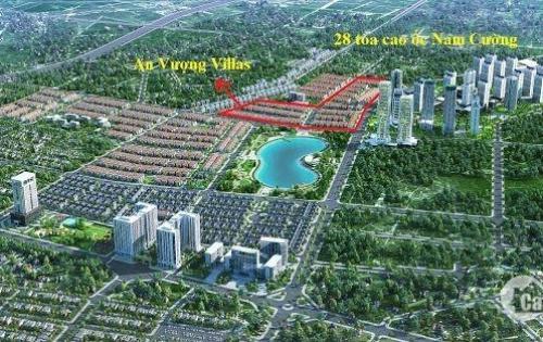 Bán biệt thự An Vượng chủ đầu tư Nam Cường.