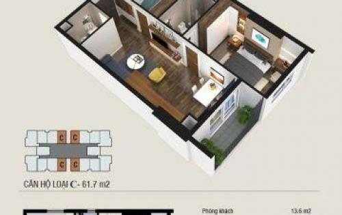 Chỉ 350 TRIỆU sở hữu ngay căn 62m2 THĂNG LONG CAPITAL lãi suất 0% - 18 tháng LH 0972461892