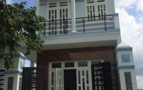Bán nhà 1 trệt, 1 lầu, mặt tiền đường Đinh Đức Thiện, tại khu đô thị Five STar gần chợ Bình Chánh