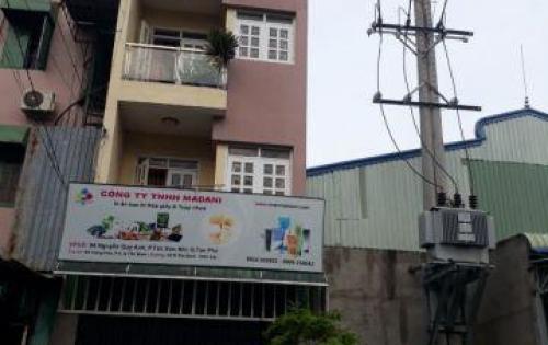 Bán nhà 5x15, 1 trệt 3 lầu, KDC Trung Sơn, Gía rẻ.
