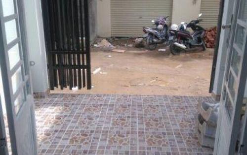 Nhà mới, 1 trệt + 1 lầu, Huỳnh Tấn Phát, hẻm xe hơi .