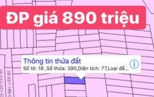 cần bán 1 số nền xã Đại Phước chỉ cách phà 2km
