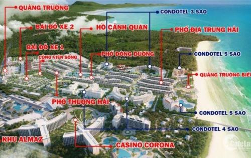 Bán Condotel Grand World Phú Quốc–ngay sát Casino-Vinpearl Land-Safari giá chỉ từ 1,2tỷ/căn
