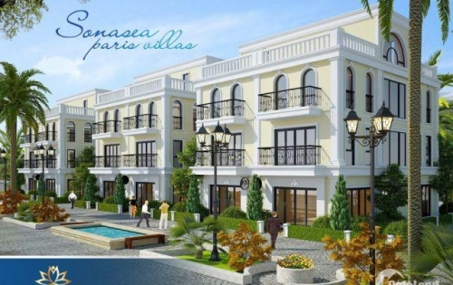 Sở hữu ngay biệt thự Paris 5 sao 152m2, chỉ với 6,9 tỷ trung tâm Bãi trường Phú quốc l LH: 0945 381 480