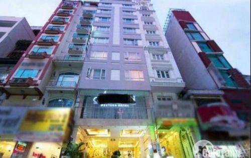 Khách sạn MT Lương Hữu Khánh, Quận 1, DT: 6x24m, Hầm 7 lầu, Giá 55 tỷ TL