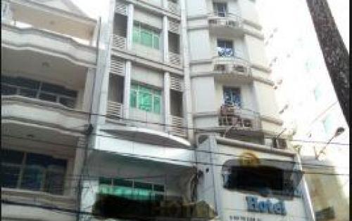 Khách sạn Quận 1, MT Lương Hữu Khánh, DT: 6x24m, Hầm 7 lầu, Giá 53 tỷ