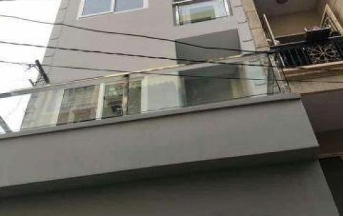 Cần bán nhà mới, đẹp 6PN_ 4 tầng_hẻm xe hơi CMT8, Q10_6.75 tỷ