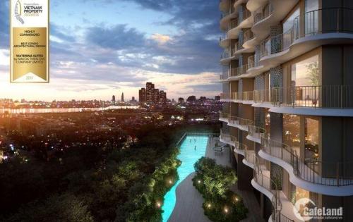 Tuyệt tác kiến trúc Waterina Suites Q2 view sông ngoạn mục, chỉ 98 căn giá từ 63tr/m2