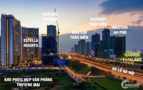 Dự án Căn hộ Cao cấp Masteri Parkland Quận 2, Ví trí đắc địa ngay Xa lộ Hà Nội - LH 0938758880