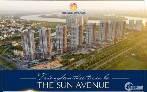 Chuyển nhượng căn hộ The Sun Avenue 2 phòng ngủ hoàn thiện nội thất giá tốt