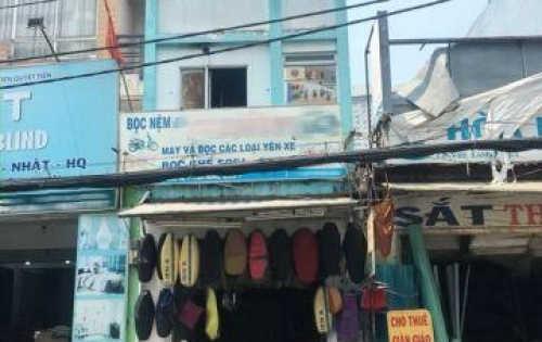 Bán gấp nhà 1 lầu 2 MT trước sau đường Lê Văn Lương, P. Tân Hưng, Quận 7.