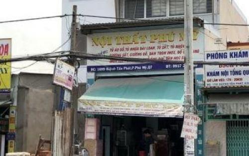 Bán nhà 1 lầu vị trí đẹp MT Huỳnh Tấn Phát, P. Phú Mỹ, Quận 7