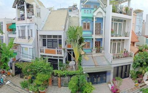 Bán nhà 2 lầu đẹp mặt tiền Nam Long quận 7.