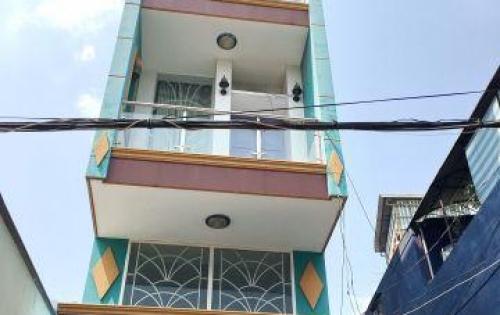 Bán nhà mặt tiền 3 lầu Quận 8 đường Hưng Phú Phường 9