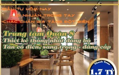 Nhà mặt tiền Tạ Quang Bửu 5x14, 1 trệt 3 lầu 1 sân thượng  - LH 0767 663 583