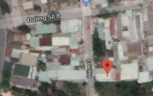 Cần bán nhà cấp 4, DT 56m2, 2PN, tiện KD tại đường 8, Q.9, giá 900tr