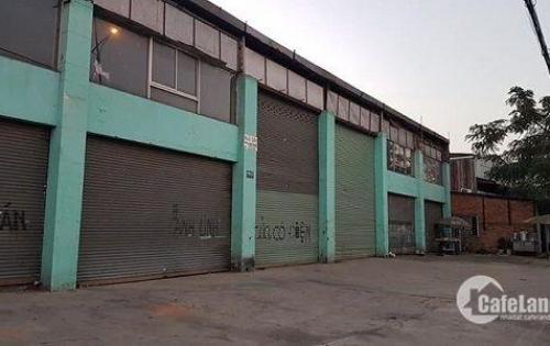 Nhà xưởng 30 x 27m giá 38 tỷ mặt tiền đường Quốc Lộ 1A, đường nhựa 20m thông.