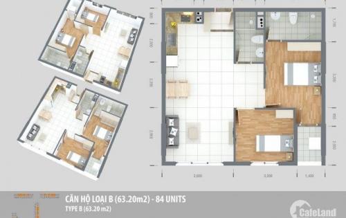 Có ngay 1 căn hộ đẹp tại KDC vĩnh lộc chỉ cần thanh toán 360 triệu, ngân hàng hỗ trợ vay 70%