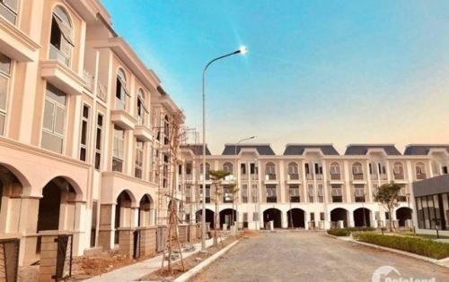 Nhà MT Kinh Doanh đường Hùng Vương, TP. Tân An, 5x20m, đúc 3 tấm