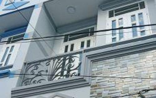 Bán nhà mới 1 trệt 3 lầu cực rẻ 1,95 tỷ Chợ Bà Hom
