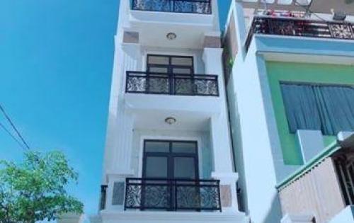 Bán nhà mới xây 4 tấm  hẻm xe hơi chợ Bà Hôm, Đường Hồ Văn Long