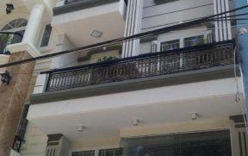 Bán nhà mt đường số 10, sổ hồng riêng, 1 trệt 3 lầu, dt 4x17m
